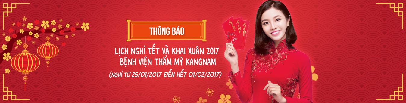 THÔNG BÁO NGHỈ TẾT VÀ KHAI XUÂN 2017