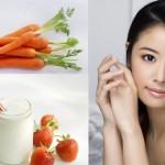 Bí quyết trị mụn hiệu quả từ mặt nạ cà rốt sữa chua