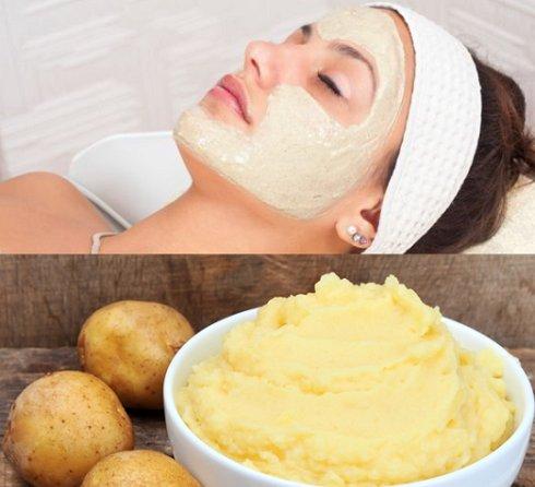 Cách trị mụn đầu đen ở trên mặt hiệu quả nhờ mặt nạ khoai tây + bột mì