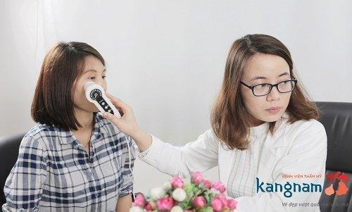 Khách hàng Nam Định chia sẻ về trị mụn 1