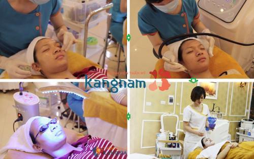 công nghệ trị mụn oxy led1