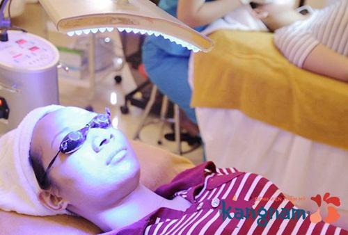 công nghệ trị mụn oxy led3