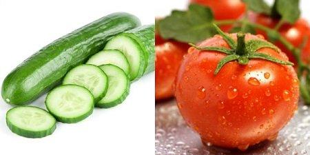 trị mụn đầu đen bằng cà chua 2